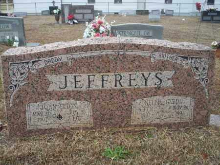 JEFFERYS, NELLIE CLYDE - Calhoun County, Arkansas | NELLIE CLYDE JEFFERYS - Arkansas Gravestone Photos