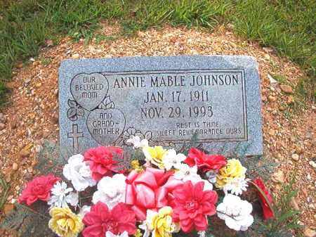 JOHNSON, ANNIE MABLE - Calhoun County, Arkansas | ANNIE MABLE JOHNSON - Arkansas Gravestone Photos