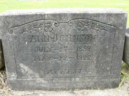 JOHNSON, ANN - Calhoun County, Arkansas | ANN JOHNSON - Arkansas Gravestone Photos