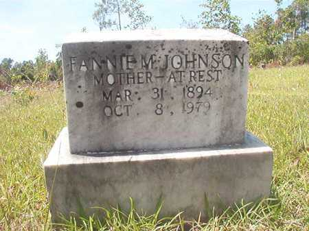 JOHNSON, FANNIE M - Calhoun County, Arkansas | FANNIE M JOHNSON - Arkansas Gravestone Photos