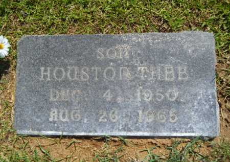 JOHNSON, HOUSTON THEE - Calhoun County, Arkansas | HOUSTON THEE JOHNSON - Arkansas Gravestone Photos