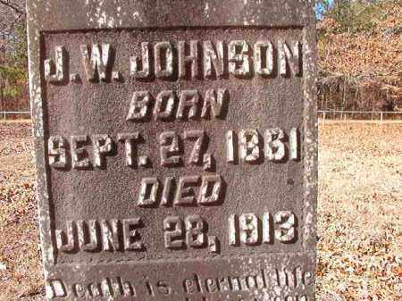 JOHNSON, J W - Calhoun County, Arkansas | J W JOHNSON - Arkansas Gravestone Photos