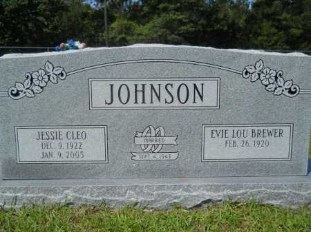 JOHNSON, JESSIE CLEO - Calhoun County, Arkansas | JESSIE CLEO JOHNSON - Arkansas Gravestone Photos