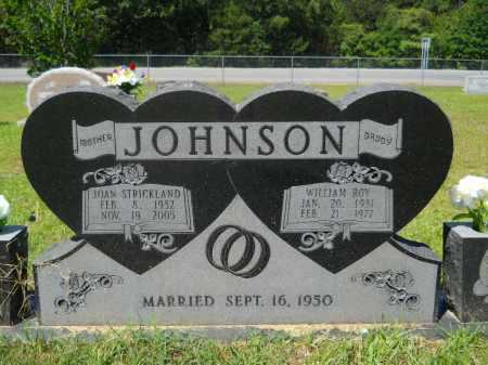 STRICKLAND JOHNSON, JOAN - Calhoun County, Arkansas | JOAN STRICKLAND JOHNSON - Arkansas Gravestone Photos