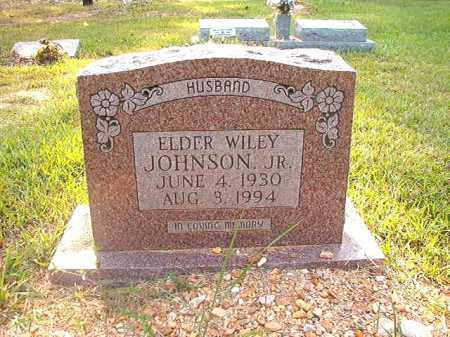 JOHNSON, JR, WILEY - Calhoun County, Arkansas | WILEY JOHNSON, JR - Arkansas Gravestone Photos