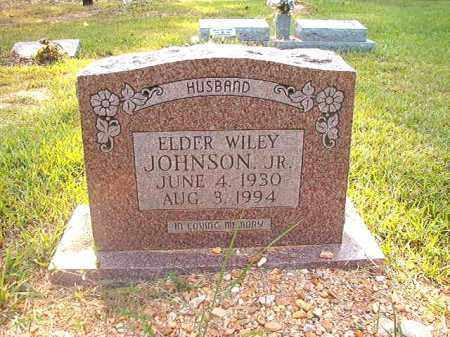 JOHNSON, JR, WILEY - Calhoun County, Arkansas   WILEY JOHNSON, JR - Arkansas Gravestone Photos
