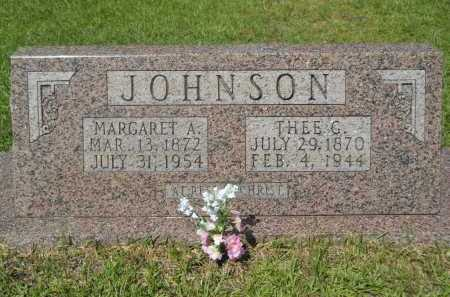 JOHNSON, MARGARET A - Calhoun County, Arkansas | MARGARET A JOHNSON - Arkansas Gravestone Photos
