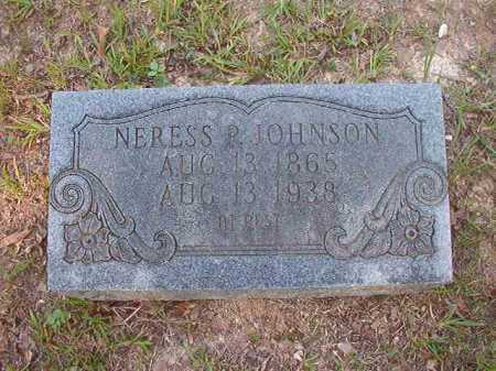 JOHNSON, NERESS P - Calhoun County, Arkansas | NERESS P JOHNSON - Arkansas Gravestone Photos