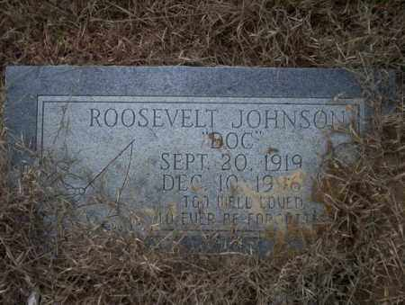 JOHNSON, ROOSEVELT - Calhoun County, Arkansas | ROOSEVELT JOHNSON - Arkansas Gravestone Photos