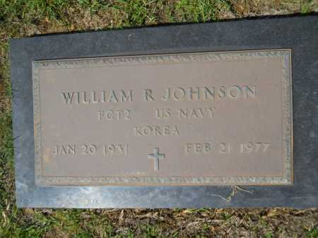 JOHNSON (VETERAN KOR), WILLIAM R - Calhoun County, Arkansas | WILLIAM R JOHNSON (VETERAN KOR) - Arkansas Gravestone Photos