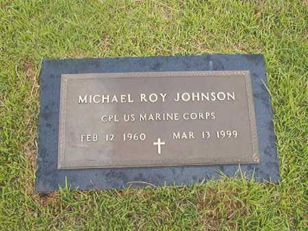 JOHNSON (VETERAN), MICHAEL ROY - Calhoun County, Arkansas | MICHAEL ROY JOHNSON (VETERAN) - Arkansas Gravestone Photos