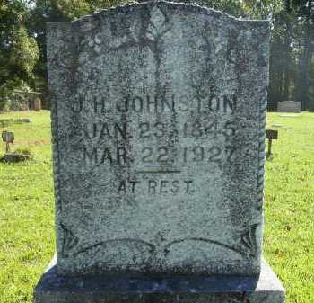 JOHNSTON, JOHN H - Calhoun County, Arkansas | JOHN H JOHNSTON - Arkansas Gravestone Photos