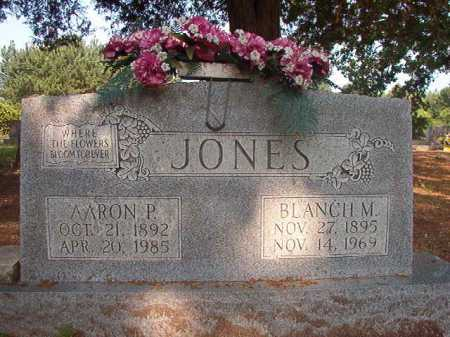 JONES, AARON P - Calhoun County, Arkansas | AARON P JONES - Arkansas Gravestone Photos