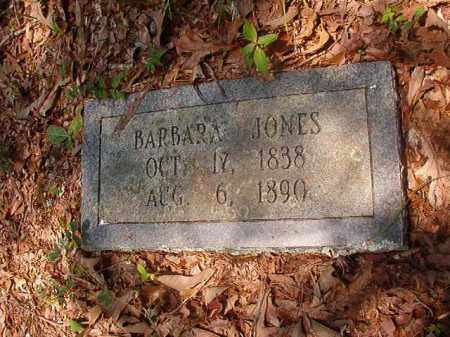 JONES, BARBARA - Calhoun County, Arkansas | BARBARA JONES - Arkansas Gravestone Photos