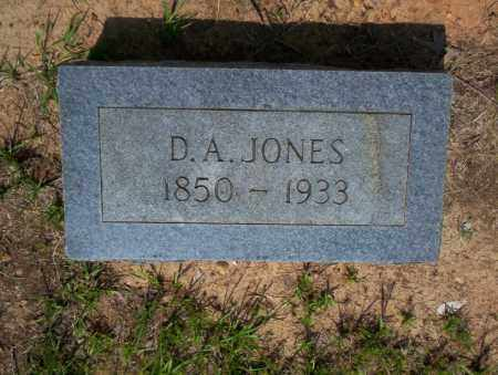JONES, D.A. - Calhoun County, Arkansas | D.A. JONES - Arkansas Gravestone Photos