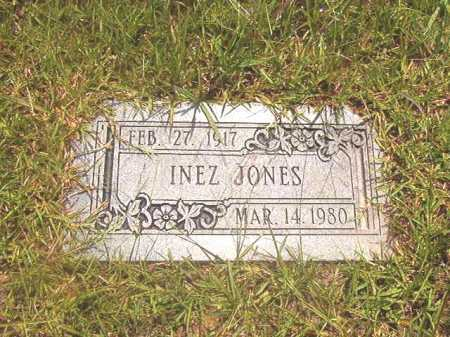 JONES, INEZ - Calhoun County, Arkansas | INEZ JONES - Arkansas Gravestone Photos