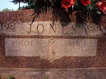 JONES, BEN F - Calhoun County, Arkansas | BEN F JONES - Arkansas Gravestone Photos