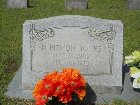 JONES, N PITMON - Calhoun County, Arkansas | N PITMON JONES - Arkansas Gravestone Photos