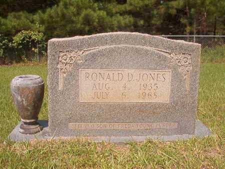 JONES, RONALD D - Calhoun County, Arkansas | RONALD D JONES - Arkansas Gravestone Photos