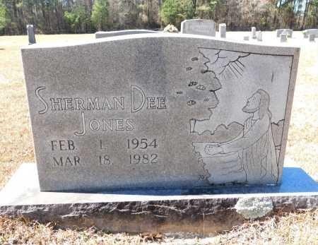 JONES, SHERMAN DEE - Calhoun County, Arkansas   SHERMAN DEE JONES - Arkansas Gravestone Photos