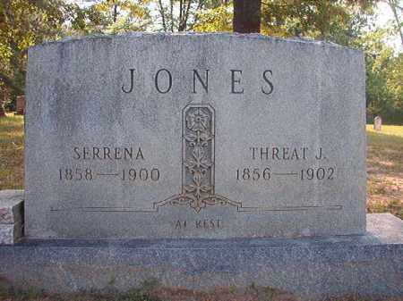 JONES, SERRENA - Calhoun County, Arkansas | SERRENA JONES - Arkansas Gravestone Photos