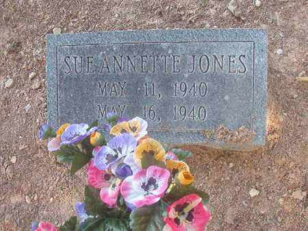 JONES, SUE ANNETTE - Calhoun County, Arkansas | SUE ANNETTE JONES - Arkansas Gravestone Photos