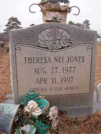 JONES, THERESA NEI - Calhoun County, Arkansas | THERESA NEI JONES - Arkansas Gravestone Photos