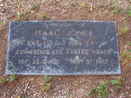 JONES (VETERAN CSA), ISAAC - Calhoun County, Arkansas | ISAAC JONES (VETERAN CSA) - Arkansas Gravestone Photos