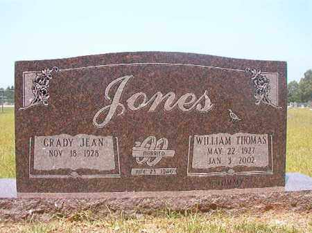 "JONES, WILLIAM THOMAS ""TOMMY"" - Calhoun County, Arkansas 