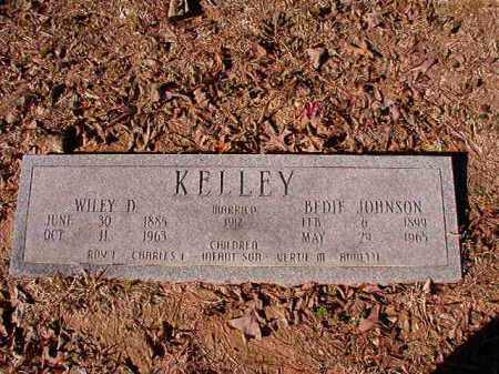 JOHNSON KELLEY, BEDIE - Calhoun County, Arkansas | BEDIE JOHNSON KELLEY - Arkansas Gravestone Photos