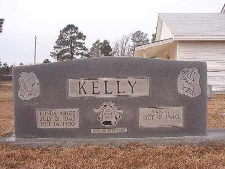 ABLES KELLY, FONDA - Calhoun County, Arkansas | FONDA ABLES KELLY - Arkansas Gravestone Photos