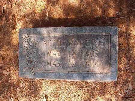 KING, NETTIE MAE - Calhoun County, Arkansas | NETTIE MAE KING - Arkansas Gravestone Photos
