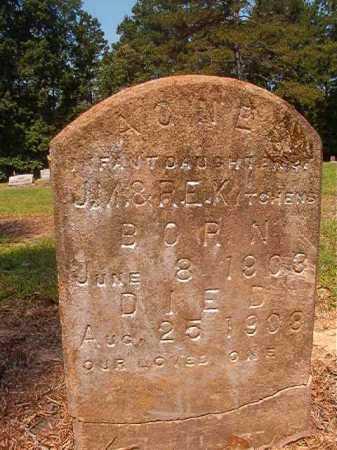 KITCHENS, AGNES - Calhoun County, Arkansas | AGNES KITCHENS - Arkansas Gravestone Photos