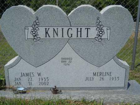 KNIGHT, JAMES W - Calhoun County, Arkansas | JAMES W KNIGHT - Arkansas Gravestone Photos