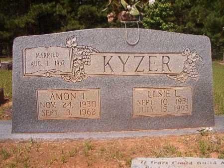 KYZER, AMON T - Calhoun County, Arkansas | AMON T KYZER - Arkansas Gravestone Photos