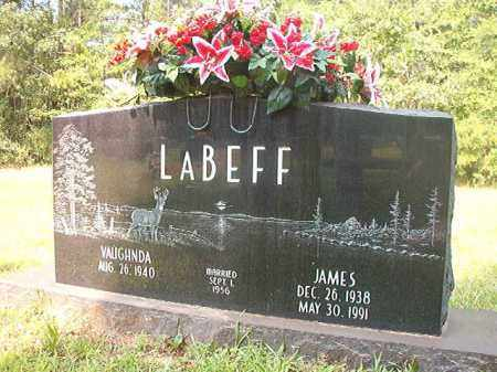 LABEFF, JAMES - Calhoun County, Arkansas | JAMES LABEFF - Arkansas Gravestone Photos