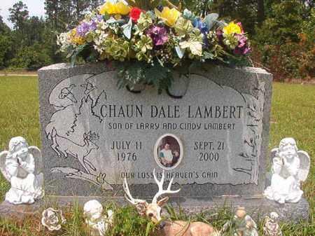 LAMBERT, CHAUN DALE - Calhoun County, Arkansas | CHAUN DALE LAMBERT - Arkansas Gravestone Photos