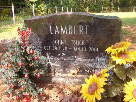 "LAMBERT, JOHN L ""BUCK"" - Calhoun County, Arkansas 