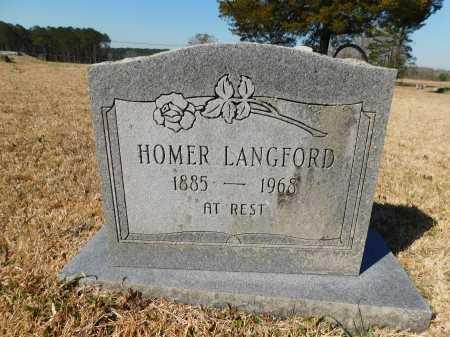 LANGFORD, HOMER - Calhoun County, Arkansas | HOMER LANGFORD - Arkansas Gravestone Photos