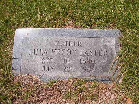 MCCOY LASTER, LULA - Calhoun County, Arkansas | LULA MCCOY LASTER - Arkansas Gravestone Photos