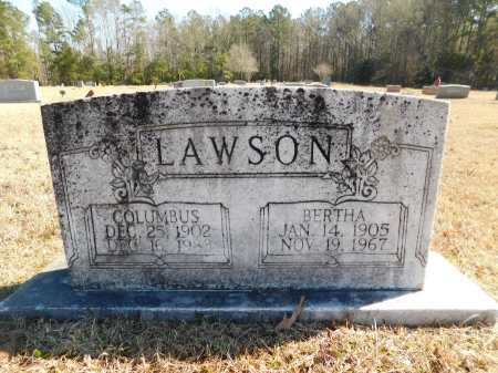 LAWSON, COLUMBUS - Calhoun County, Arkansas | COLUMBUS LAWSON - Arkansas Gravestone Photos
