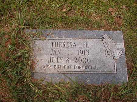 LEE, THERESA - Calhoun County, Arkansas | THERESA LEE - Arkansas Gravestone Photos