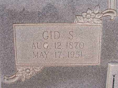 LOCKRIDGE, GID S - Calhoun County, Arkansas | GID S LOCKRIDGE - Arkansas Gravestone Photos