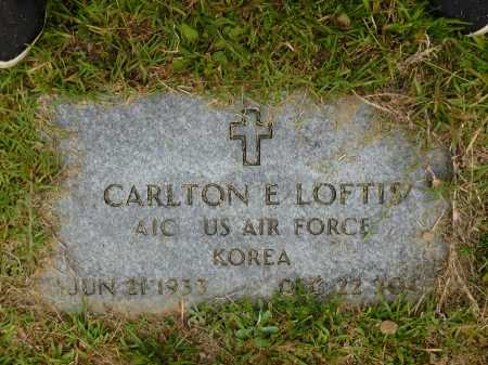 LOFTIS (VETERAN KOR), CARLTON E - Calhoun County, Arkansas | CARLTON E LOFTIS (VETERAN KOR) - Arkansas Gravestone Photos