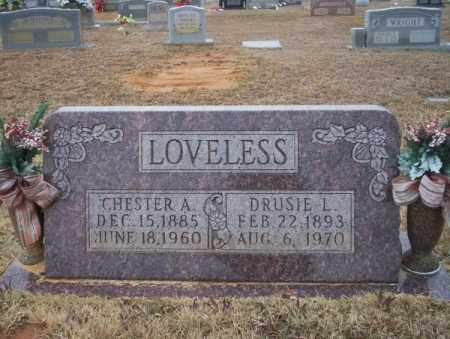 LOVELESS, CHESTER A - Calhoun County, Arkansas | CHESTER A LOVELESS - Arkansas Gravestone Photos