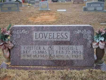 LOVELESS, DRUSIE L - Calhoun County, Arkansas | DRUSIE L LOVELESS - Arkansas Gravestone Photos