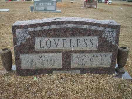 MCKINNIE LOVELESS, GLENNA - Calhoun County, Arkansas | GLENNA MCKINNIE LOVELESS - Arkansas Gravestone Photos
