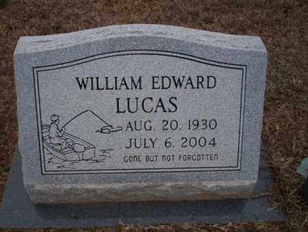 LUCAS, WILLIAM EDWARD - Calhoun County, Arkansas | WILLIAM EDWARD LUCAS - Arkansas Gravestone Photos