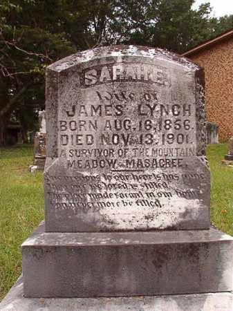 LYNCH, SARAH E - Calhoun County, Arkansas | SARAH E LYNCH - Arkansas Gravestone Photos
