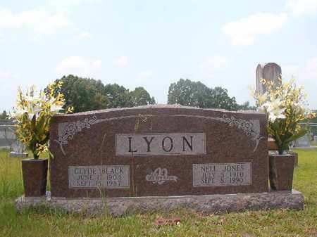 LYON, CLYDE BLACK - Calhoun County, Arkansas | CLYDE BLACK LYON - Arkansas Gravestone Photos